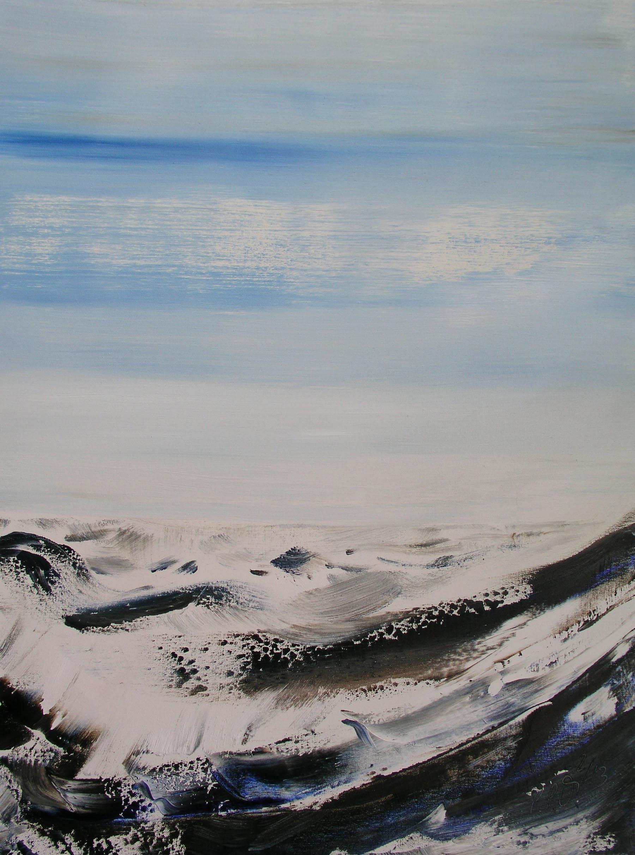 Wellen  (Ölfarbe/Leinwand)